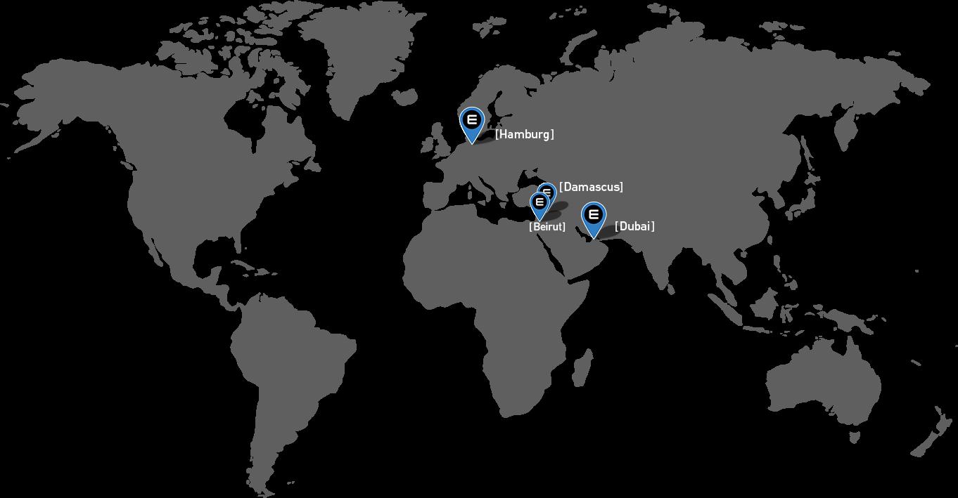 Standorte Emea Trade